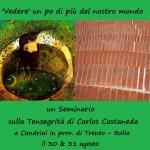 'Vedere' un po di più del nostro mondo: un Seminario di Tensegrity® in Italia: il 30 e 31 agosto 2014, a Candriai, in provincia di Trento – condotto da Jim Morris e dai Facilitatori italiani