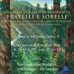 CICLICITA' XII: FRATELLI E SORELLE